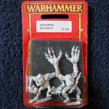1998 caos Rosa horror Citadel Warhammer army Demonio de Tzeentch Demonio Diablo MIB