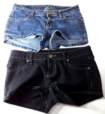 Lot of 2 City Streets Short Shorts Womens Size 0 GC Free Shipping!!!
