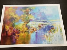 IVICA PETRAS-RIVER...graphic...HAND SIGNED