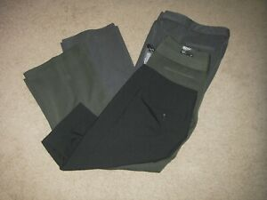 3 NWT/EUC Woman's Express Design Studio Editor Stretch PANTS/Bermuda Shorts 6