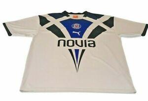 Bath Rugby Union Away Shirt 2012 2013 UK XXL 2XL Puma Novia White Blue Black