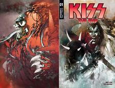 KISS THE END #1 EXCLUSIVE STUARTSAYGER.COM 3 comic SET VARIANT DYNAMITE NM