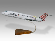 Boeing 717 Volotea Airlines Solid Kiln Dry Mahogany Wood Airplane Desktop Model