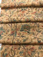 @@ 160 cm Japanese kimono silk fabric/ vintage, Chirimen crepe/ beige L95