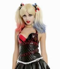 DC COMICS HARLEY QUINN Corset Cosplay Bustier Size MD Official Licensed NEW NWT
