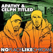 APATHY + CELPH TITLED No Place Like Chrome CD DEMIGODZ ARMY OF THE PHARAOHS