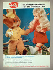 GeGe Dolls PRINT AD - 1971 ~ Ge Ge Doll; G. Giroud