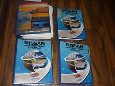 N134 NISSAN AIR CONDITIONER KLIMAANLAGE alle Modelle WERKSTATT HANDBUCH SERVICE