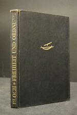 Bloch – Freiheit und Ordnung – 1946 – EA – Mit eigenhd. Widmung