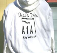 A1A  Sweatshirt Hoodie  Key West, Havana parrothead