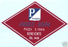 VESPA Piaggio Angelo Boffa Distribuidor Club Pegatina GS, PX, GL