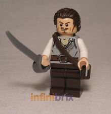 Lego Will Turner from Set 4184 Black Pearl, 4182 Cannibal Escape + 4183 poc026