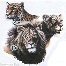 TEE SHIRT - BIG CATS - LION, LEOPARD & PUMA?