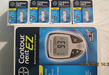 Bayer Contour Next EZ Blood Glucose 200 Test Strips + Free Meter Exp: 02/28/2019