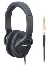 New ROLAND RH-A7 BK open-air type Monitor Headphones