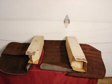 77-85 CADILLAC BUICK OLDS PONTIAC B C E BODY NOS GM  BROWN CARPETED FLOOR MATS