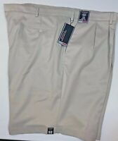 Roundtree & Yorke TravelSmart Pleated Easy Care Ultimate Comfort Shorts, 52