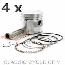 Honda CB 750 Four K0 - K2 4x Kolben Kolbenringe Bolzen Set +0,25 Piston Ring Kit
