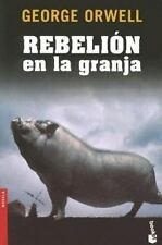 Rebelion en la granja Novela Booket Numbered Spanish Edition