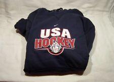 Nike Tech Olympic Team USA Hockey Fleece Hoodie College Navy Large NWT!