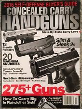 Concealed Carry Handguns State By State Carry Laws 2016 FREE SHIPPING!
