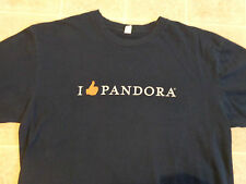 PANDORA I Thumbs Up T-SHIRT MED Music Streaming Online Service Like Love Promo