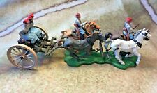 Britains Deetail and Swoppets ACW Confederate gun limber