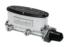 260-8555-P Wilwood High Volume Tandem Master Cylinder - 1In Bore Ball Burnished