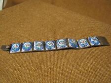 ███►Rarität altes Armband mit Emaille auf Kupfer -signiert um 1880