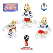ZABIVAKA T11673 Set Figurine World Cup FIFA 2018 / Football Mascot Wolf (3 pc.)