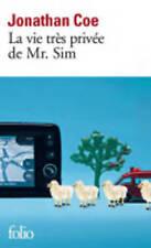 Good, La Vie Tres Privee De Mr Sim (Folio), Coe, Jonathan, Book