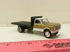 1/64 CUSTOM ERTL farm toy 1968 Chevrolet flatbed delivery truck free shipping!