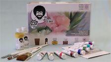 Bob Ross Floral Set for Flower Painting - Bob Ross brushes, Paints, Oils