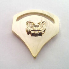 US ARMY RANK SPC-5 Military Veteran (GOLD) Collar / Hat Pin P12760 EE