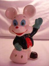Old Ceramic White Mouse Money Box