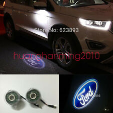 2x LED Side Rear Mirror Door Ghost Shadow Welcome Light Ford Edge 2015-2018