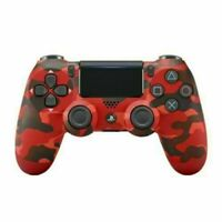Camo Red SONY PS4 Game Controller Console DualShock Wireless PLAYSTATION Gift US