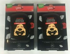 Yes To Tomatoes 2x Detoxifying Charcoal Paper Mask Beauty Box 20 Total