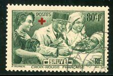 PHOTO CONTRACTUELLE / TIMBRE FRANCE OBLITERE N° 459 CROIX ROUGE FRANCAISE