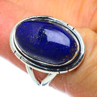 Lapis Lazuli 925 Sterling Silver Ring Size 6.25 Ana Co Jewelry R44352F