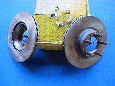 2 Disques de freins avant ventilés Lucas pour Alfa Roméo 75, 90, Alfetta