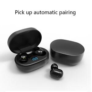 Wireless headphones Bluetooth Earbuds 5.0 Noise Cancelling Waterproof Headset