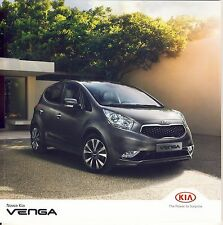 Kia Venga 2015 catalogue brochure polonais Poland