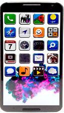 Motorola XT1100 Nexus 6 Light Grey *sehr gut* 32GB Android Smartphone (A10117)