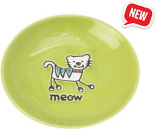 New listing Cat dish 2.5-ounce Diameter for wet or dry food Fits all cats of all sizes