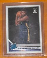 Zion Williamson 2019-20 Donruss Optic Rc #158 New Orleans Pelicans 💎 PSA READY!