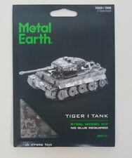 Fascinations Metal Earth Tiger I Tank German 3D Puzzle Steel Model Kits MMS203