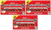 3x The Original Boston Baked Beans Candy Coated Peanuts American Sweets