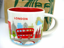 """STARBUCKS LONDON """"You are here mug"""" YAH NEW RELEASE 2016 Ships From USA with BOX"""