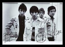 THE WHO AUTOGRAPHED SIGNED & FRAMED PP POSTER PHOTO